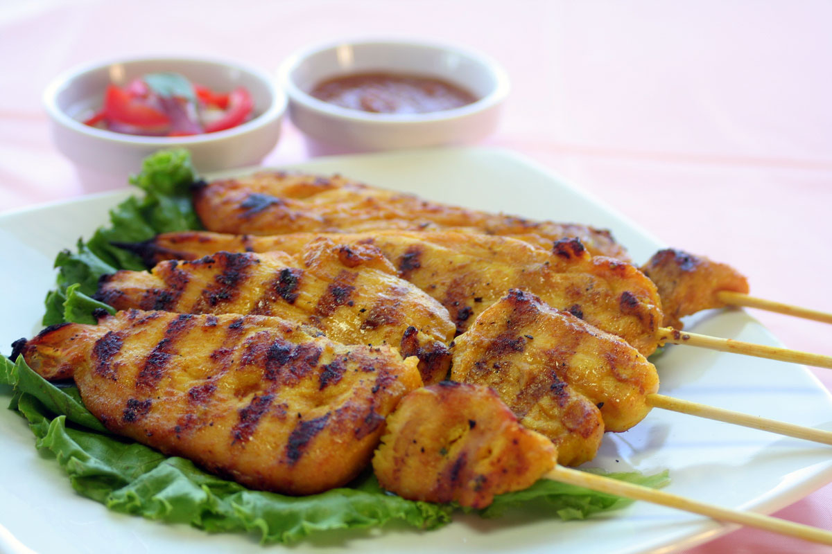 Chicken Satay Recipe — Dishmaps