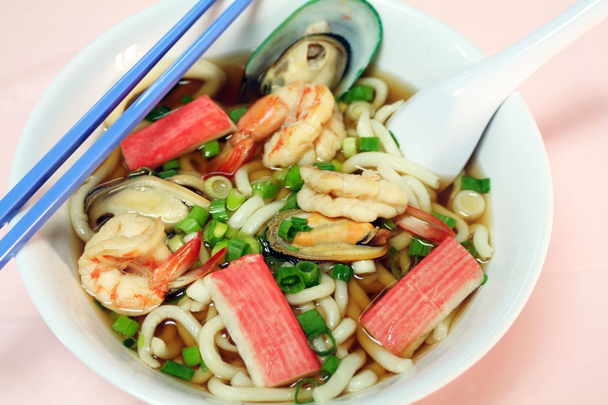 Udon Seafood Noodle Soup