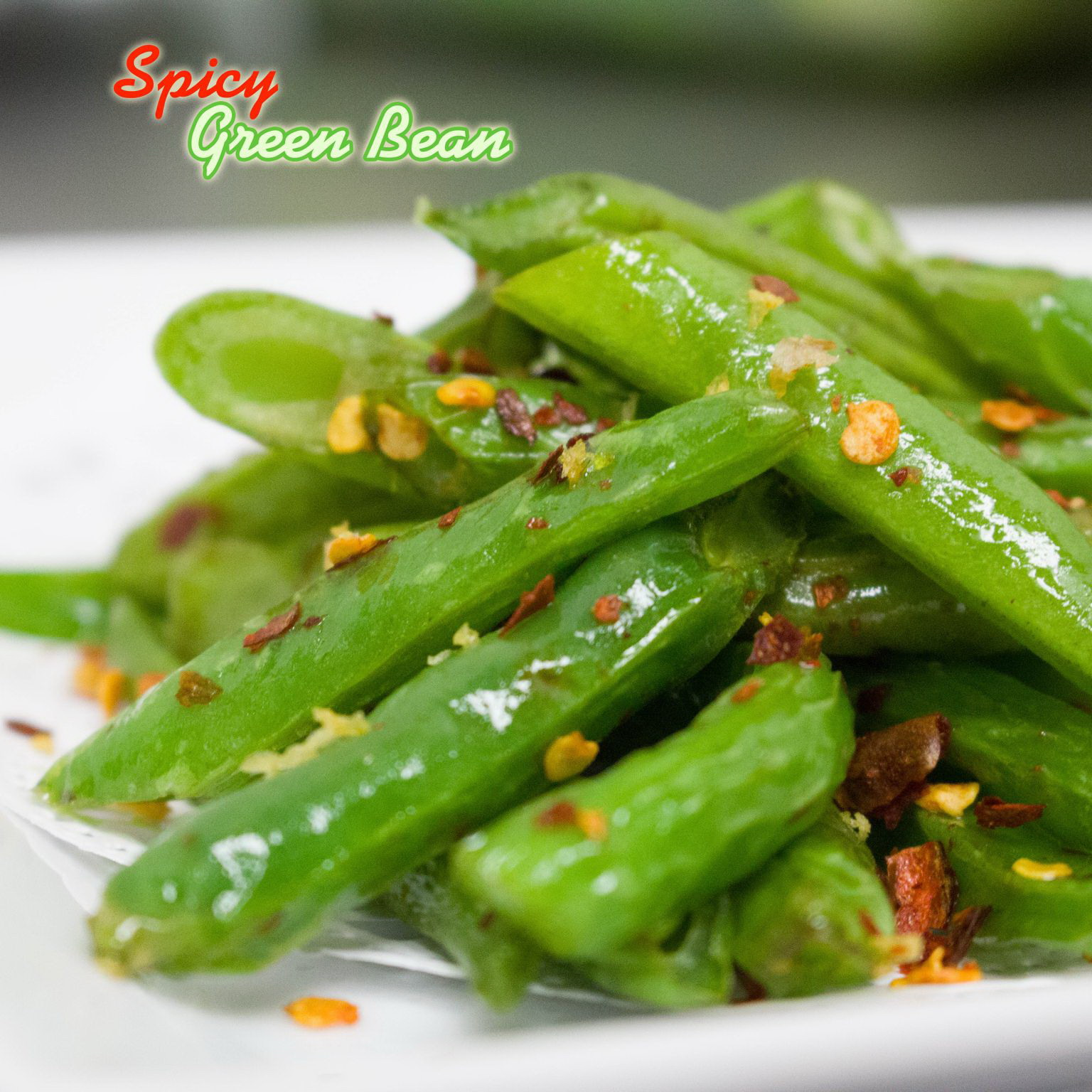 Spicy Garlic Green Bean